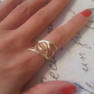 Antler Gold Ring (5)